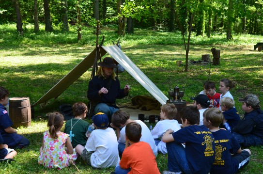 Educational Programing: Living History Class