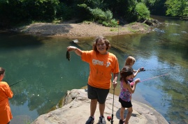 Educational Programing: Fishing Class