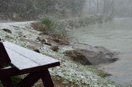 Winter at Turkey Creek's Blue Hole