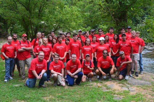 Samford's Cumberland School volunteer group
