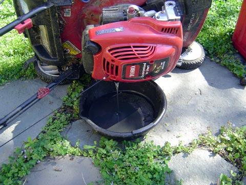 lawnmower-oil-change